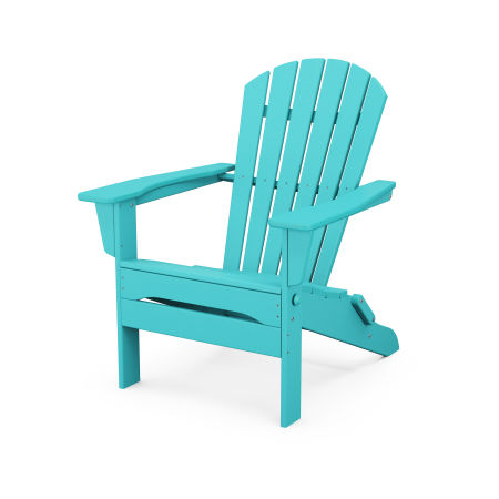 South Beach Folding Adirondack Chair in Aruba