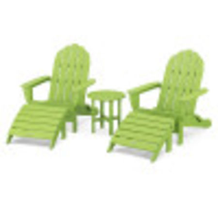 Classic Oversized Adirondack 5-Piece Casual Set in Lime