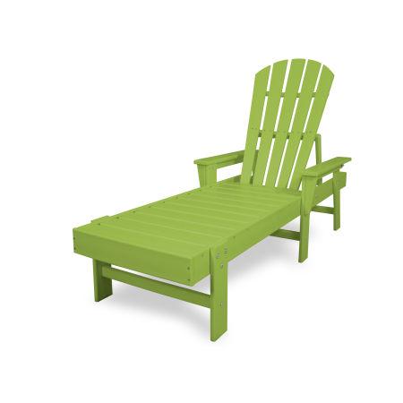 South Beach Chaise in Lime