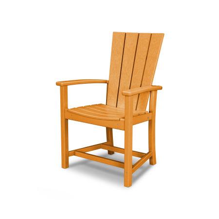 Quattro Adirondack Dining Chair in Tangerine