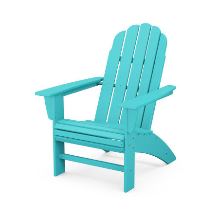 Vineyard Curveback Adirondack Chair in Aruba