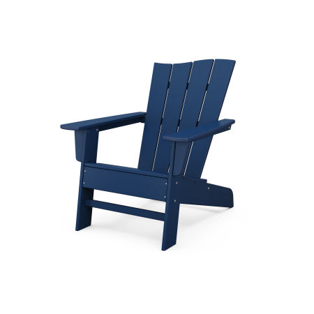 The Wave Chair Right in Navy