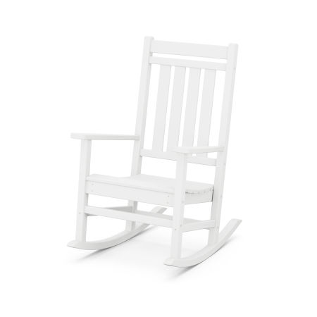 Estate Rocking Chair in White