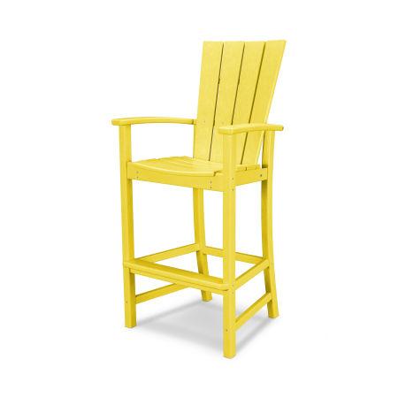 Quattro Adirondack Bar Chair in Lemon