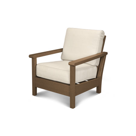 Harbour Deep Seating Chair in Teak / Antique Beige