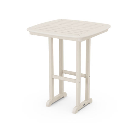 """Nautical 31"""" Counter Table in Sand"""