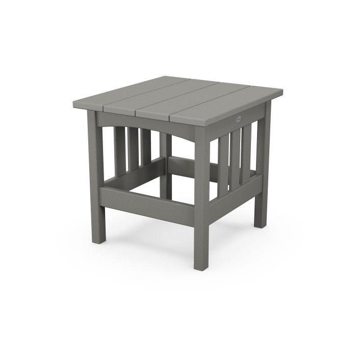 """Mission 22"""" x 24"""" End Table"""