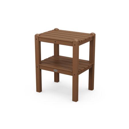 Two Shelf Side Table in Teak