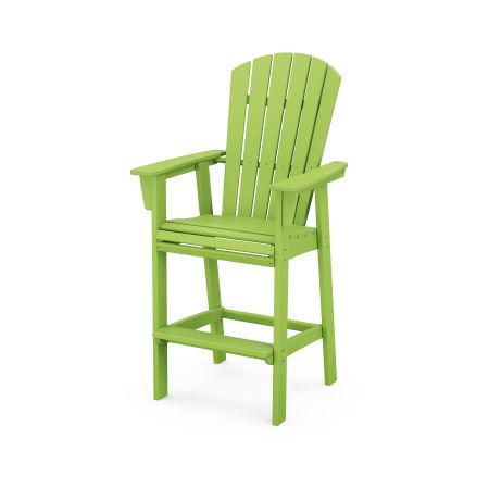 Nautical Adirondack Bar Chair in Lime