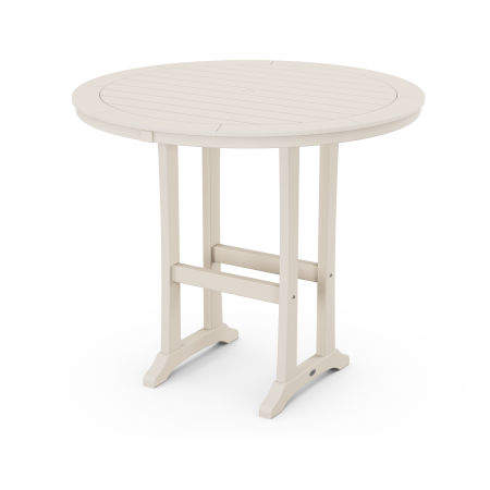 "48"" Round Bar Table in Sand"