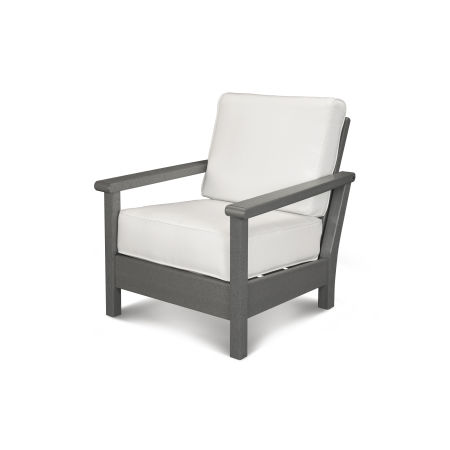 Harbour Deep Seating Chair in Slate Grey / Natural