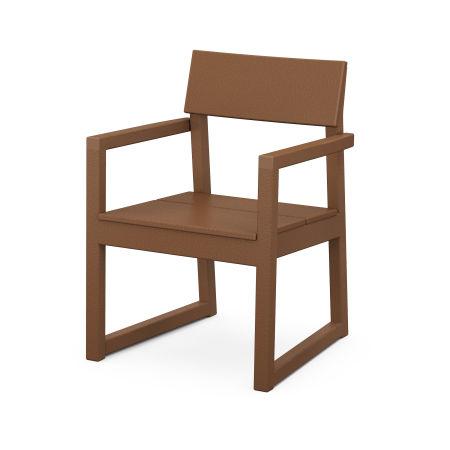EDGE Dining Arm Chair in Teak