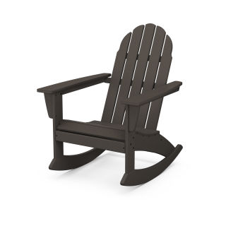Vineyard Adirondack Rocking Chair in Vintage Finish