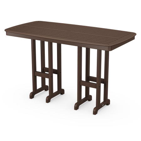 "Nautical 37"" x 72"" Bar Table in Mahogany"