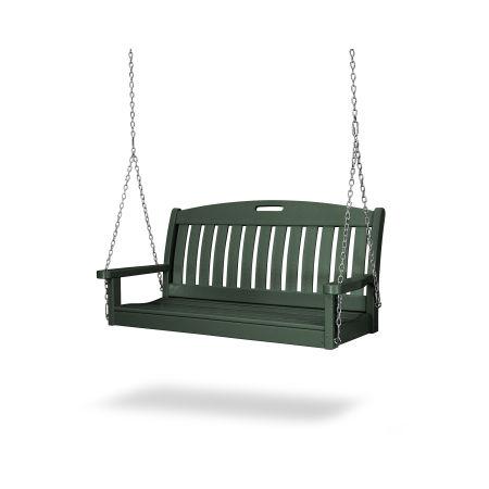 """Nautical 48"""" Swing in Green"""