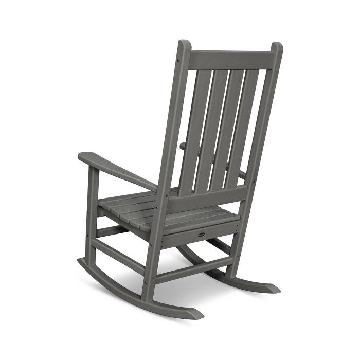 Black Finish Southern Enterprises Porch Rocking Chair