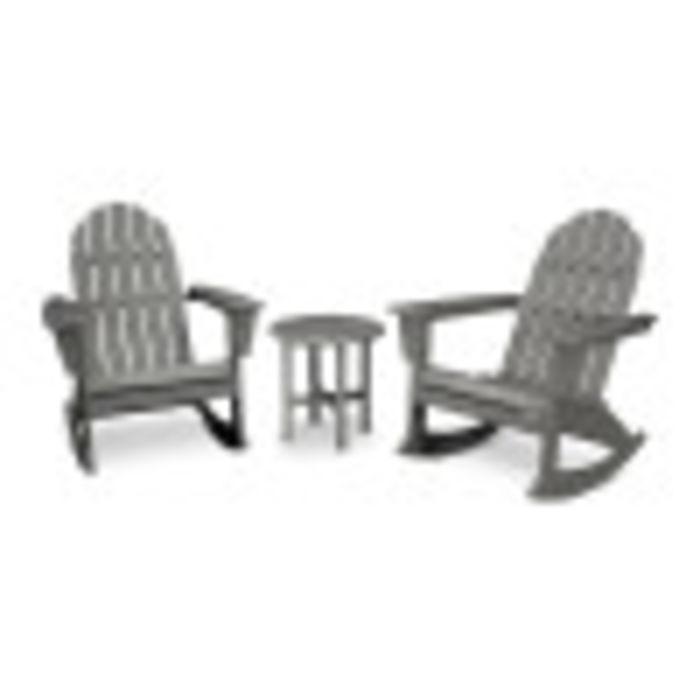 Vineyard 3-Piece Adirondack Rocking Chair Set