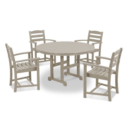 La Casa Café 5-Piece Dining Set in Sand