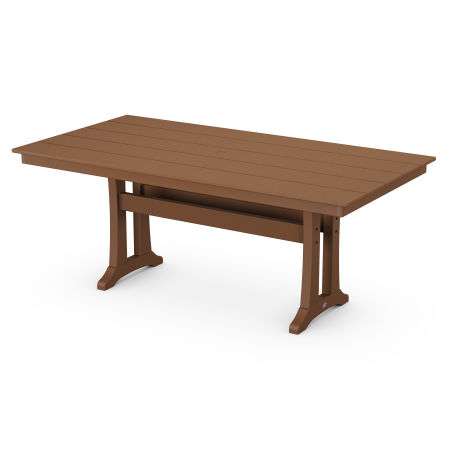 "37"" x 72"" Dining Table in Teak"