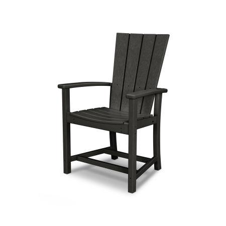 Quattro Adirondack Dining Chair in Black