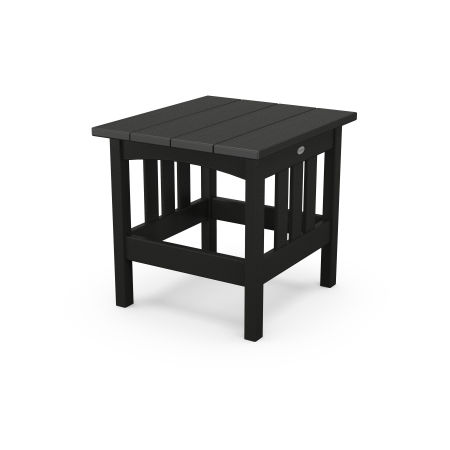 "22"" x 24"" End Table in Black"