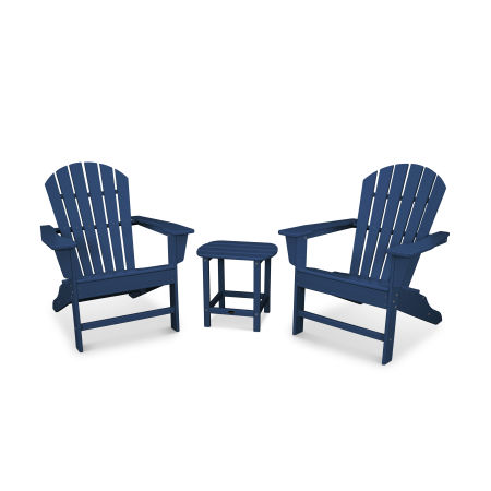 South Beach Adirondack 3-Piece Set in Navy