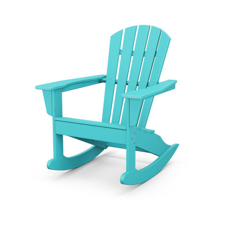 Palm Coast Adirondack Rocking Chair in Aruba
