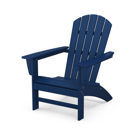 Nautical Adirondack Chair in Navy