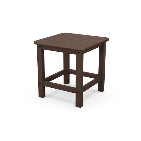 """Seashell 18"""" Side Table in Mahogany"""