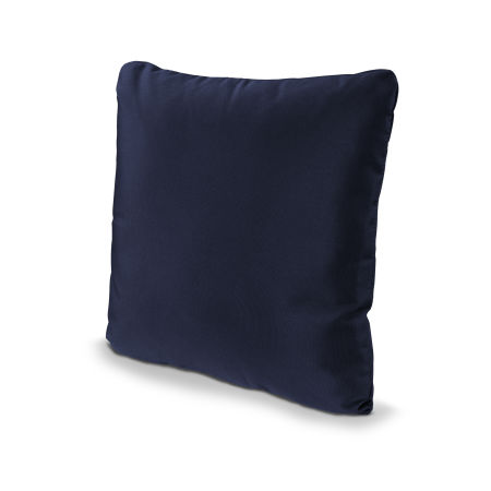 "16"" Outdoor Throw Pillow in Navy"