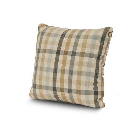 "20"" Outdoor Throw Pillow by POLYWOOD® in Connect Dune"