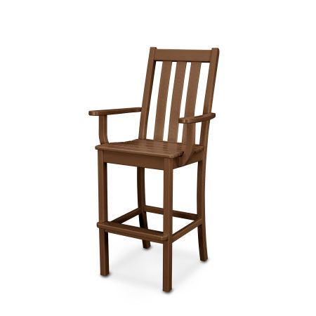 Vineyard Bar Arm Chair in Teak