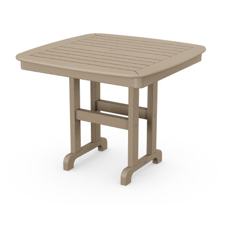 """Nautical 37"""" Dining Table in Vintage Sahara"""
