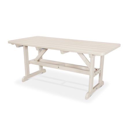 """Park 33"""" x 70"""" Picnic Table in Sand"""