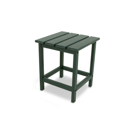 "Long Island 18"" Side Table in Green"
