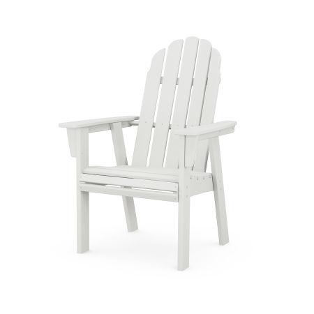 Vineyard Adirondack Dining Chair in Vintage White