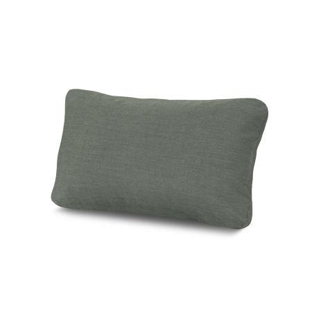 Outdoor Lumbar Pillow in Cast Sage