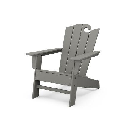 The Ocean Chair in Slate Grey