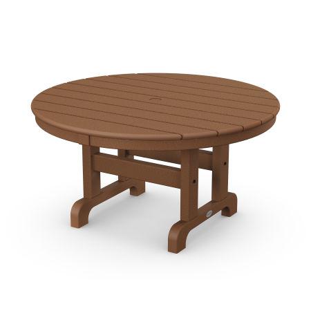 """Round 36"""" Conversation Table in Teak"""