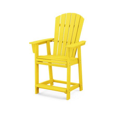 Nautical Adirondack Counter Chair in Lemon