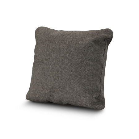 "20"" Outdoor Throw Pillow by POLYWOOD® in Blend Coal"