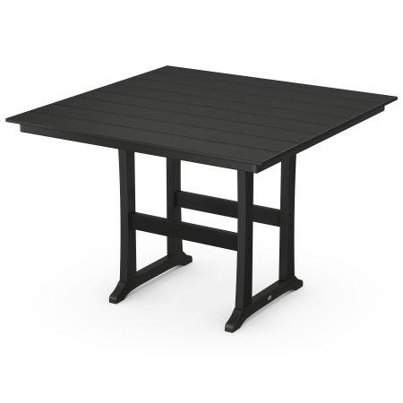 "59"" Bar Table in Black"