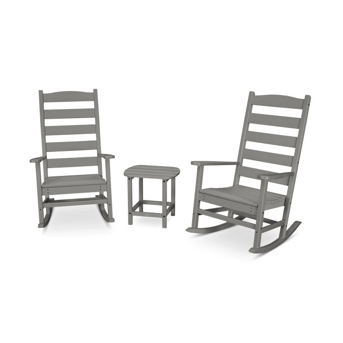 Shaker 3-Piece Porch Rocking Chair Set