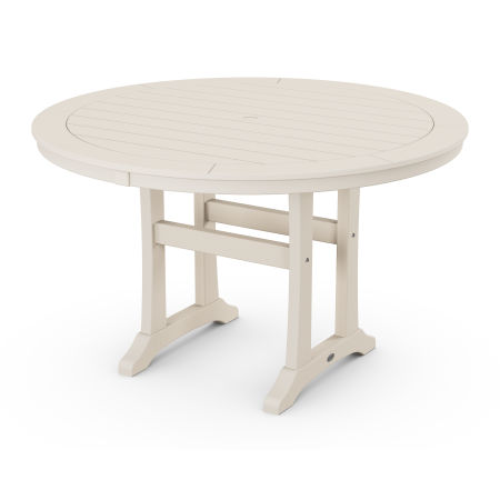 """48"""" Round Dining Table in Sand"""