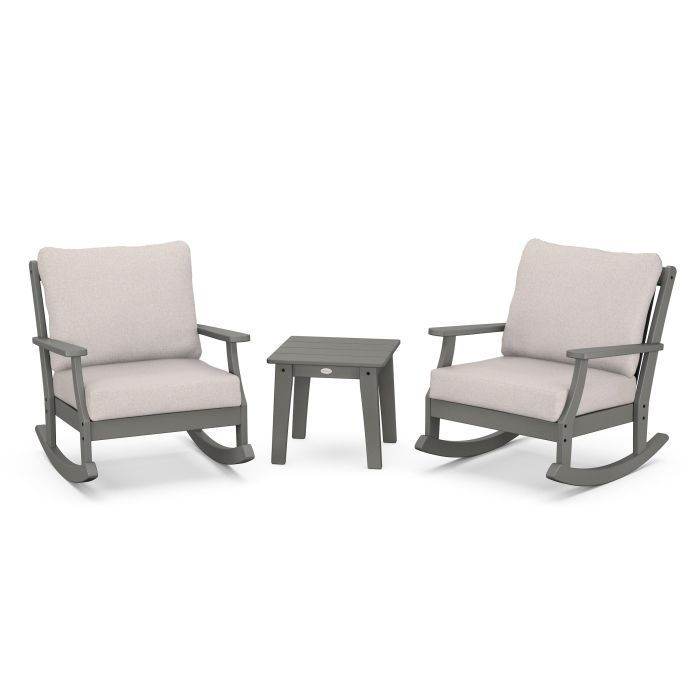 Braxton 3-Piece Deep Seating Rocker Set