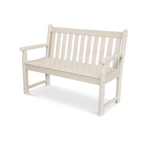 "Traditional Garden 48"" Bench in Sand"