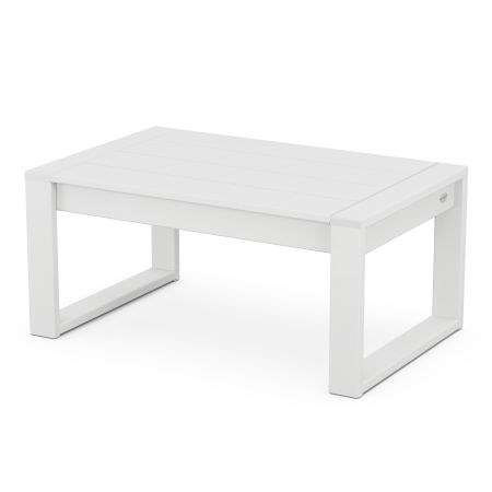EDGE Coffee Table in White