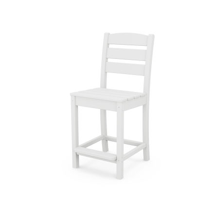 Lakeside Counter Side Chair in White