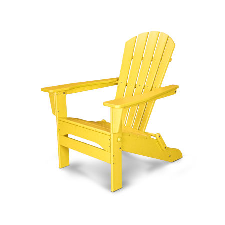 Palm Coast Folding Adirondack in Lemon