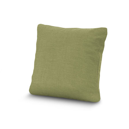 "20"" Outdoor Throw Pillow by POLYWOOD® in Cast Moss"
